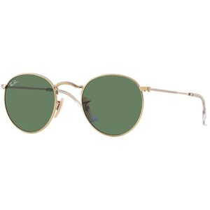 Ray Ban RB3447 001 Round Metal
